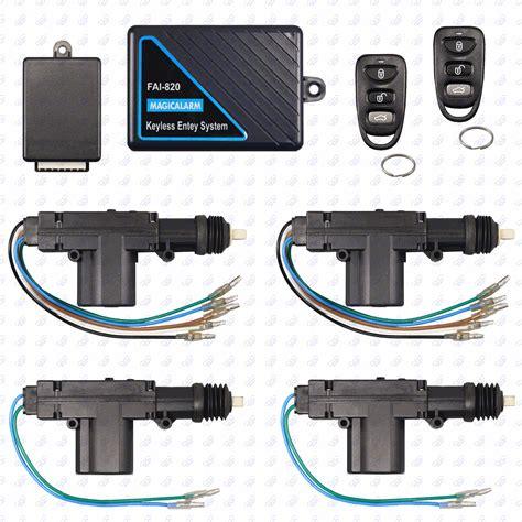 Alarm Lock Motor remote keyless entry system 4 door power lock heavy duty