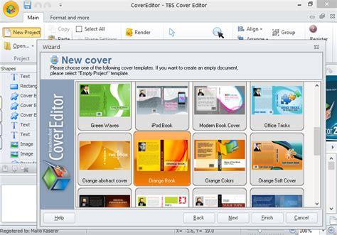 Cara Membuat Cover Buku Dengan Tbs Cover Editor | tutorial membuat cover buku dengan tbs cover editor