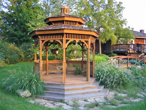 backyard gazebo 7 gazebos that turn any backyard into a photo op photos