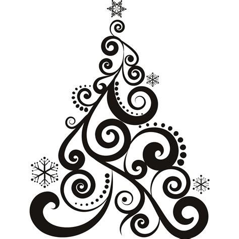 Aufkleber Weihnachten Schwarz by Personalized Christmas Decoration Heat Transfer Decal 17