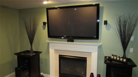 55 Inch Tv Above Fireplace by Richeygroup Home Theater Installation Page 2
