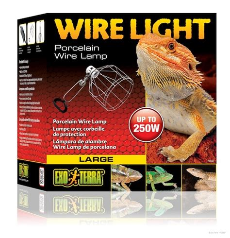 exo terra wire light small exo terra wire cl light large