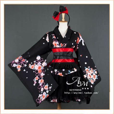 Waloli Harajuku Yukata selling sd palpebra kimono dress