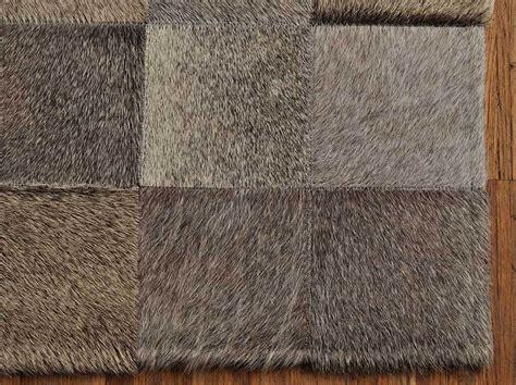 teppich 160 x 180 kuhfell teppich grau natur 180 x 120 cm kuhfelle