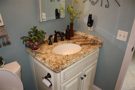Rubbed Bronze Kitchen Faucets by Yellow River Granite Counter Tops Traditional Bathroom