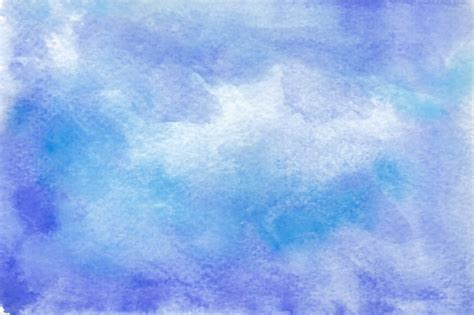 Paint Design by Blue Watercolor Background Vector Free Download