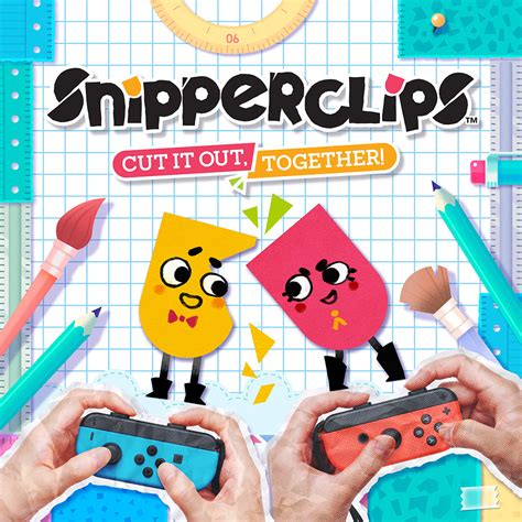 Kaset Switch Snipperclips Plus Cut It Out Together snipperclips cut it out together bomb