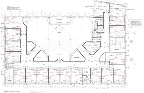 Floor Plan Two Storey by Surgery Plum Architects