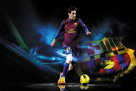 Home Decor For Cheap Wholesale by 24x35inch Football Star Lionel Messi Poster Hd Home Wall