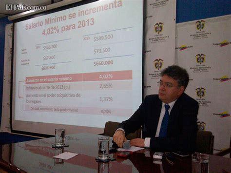 incremento subsidio transporte en colombia con incremento del 4 02 589 500 ser 225 el salario m 237 nimo