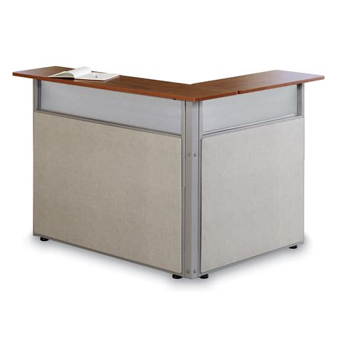Ofm Pg296 48 X 37 L Shaped Reception Station Homeclick Com L Shaped Reception Desk
