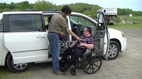 driving boat into lift multi lift disability handicap personal transfer lift in