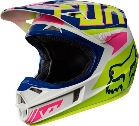 youth motocross racing 119 95 fox racing youth v1 falcon mx motocross helmet 995536
