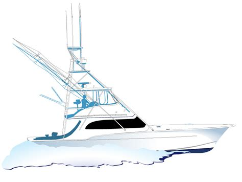 cool boat clipart sport fishing boat clip art cliparts co