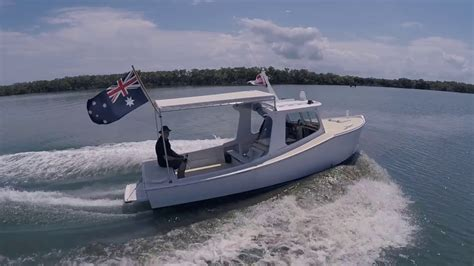 small boat passage moreton bay nifty youtube
