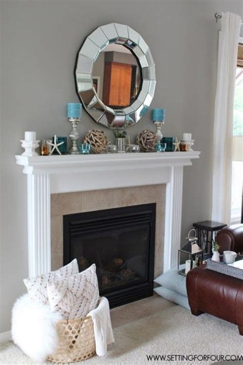 Fireplace Decorations Ideas 53 beautiful beach mantle decor ideas comfydwelling com