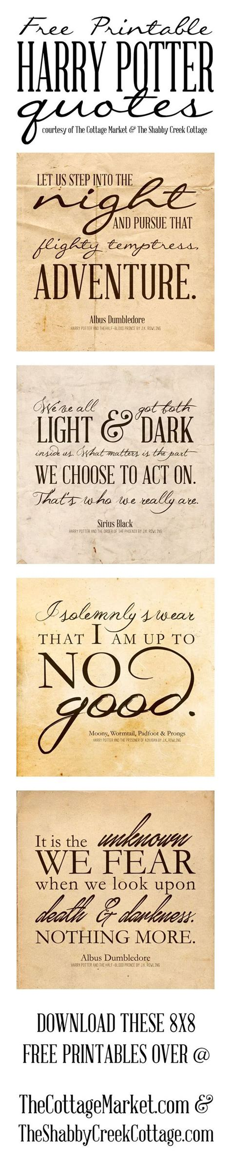 free printable harry potter quotes the cottage market free harry potter quotes printables the cottage