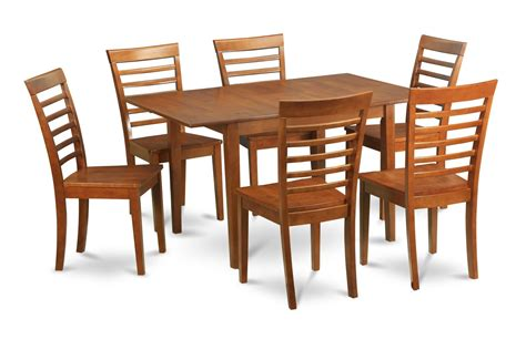 5pc rectangular kitchen dinette table 4 chairs mahogany ebay 5pc rectangular dinette dining table 36x54 quot w 4 wood seat