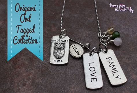 Origami Owl Tags - review s day gift ideas with a personal touch