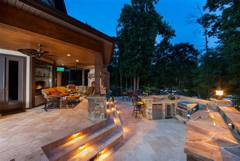 patio lighting ideas stairs acvap homes pretty patio