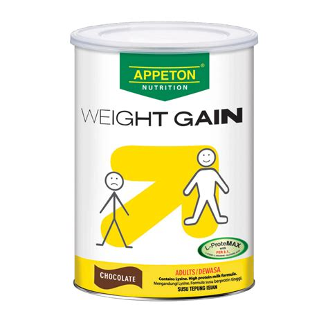 Appeton Weight Gain Per Kaleng products appeton weight gain