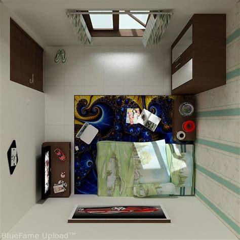 wallpaper dinding kamar kosan desain kamar mahasiswa ms interior store