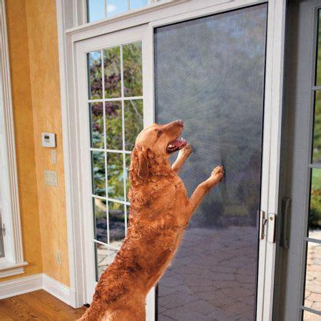 Pet Door For Garage Door Strong Pet Screen Kit Fido And Fluffy Screens Pet Care And