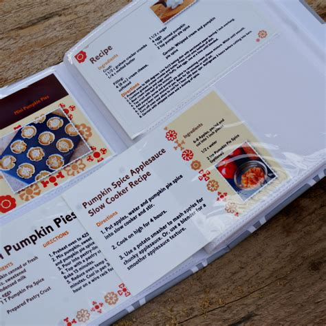 Hp Recipe Cards Templates by Diy Recipe Card Cookbook Myprintly