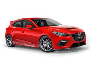 mazdaspeed3 concept tipped for frankfurt debut autoblog