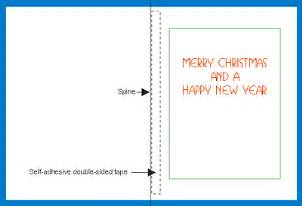 Free Photo Card Templates To Print by Free Greetings Card Insert Template To