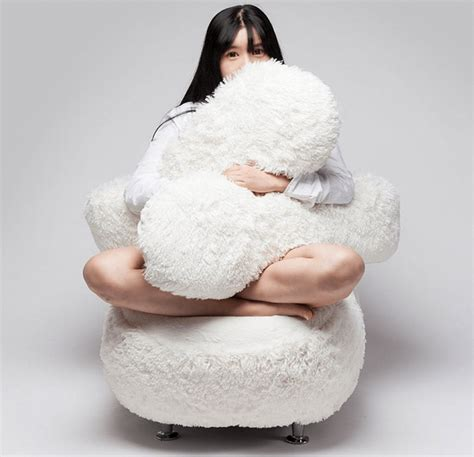 free hug sofa this ingenious korean sofa will literally quot cuddle quot with