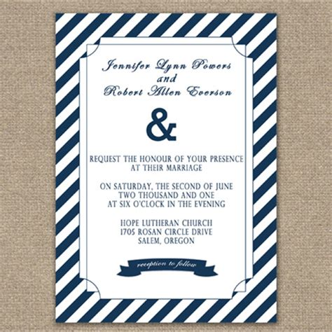 Wedding Invitations Nautical by Seal And Send Wedding Invitations To Set The Tone