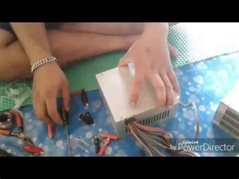 cara membuat rak laptop dari kardus cara membuat inventer dari power supply pc youtube