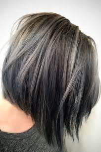 gray hair highlight ideas best 25 silver hair highlights ideas on pinterest gray
