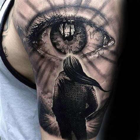 eye tattoos for men 50 realistic eye designs for visionary ink ideas