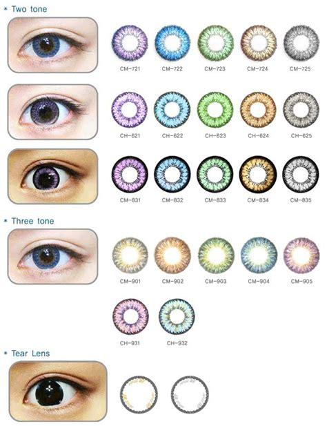 contact lense colors contact lenses