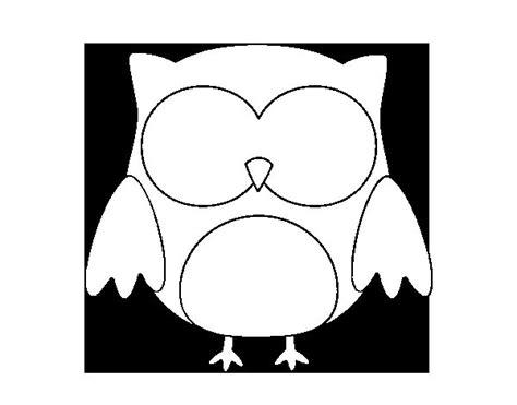 imagenes para dibujar buhos dibujo de b 250 ho de halloween para colorear dibujos net