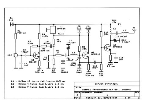 fm transmitter receiver circuit diagram simple radio transmitter circuit diagram