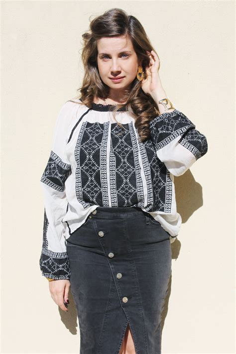 Blouse Cewek Viera Mustard the maison scotch blouselady melbourne a fashion from melbourne