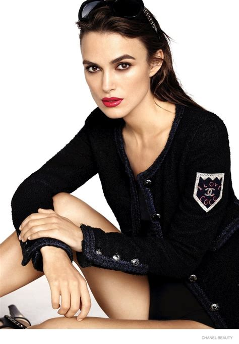 Keira Knightley Is The New Of Coco Mademoiselle by Keira Knightley In Chanel Coco Lipstick Caign