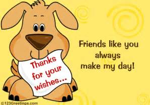 thank you friendship cards friends thankful wishes