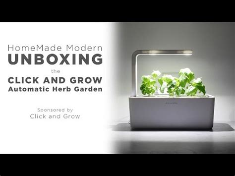 click and grow garden the smart garden 3 indoor herb garden click grow