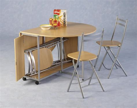 folding cing chair with attached table portable oval drop leaf kitchen table for small