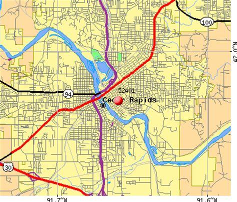 map of cedar rapids iowa cedar rapids zip code map my