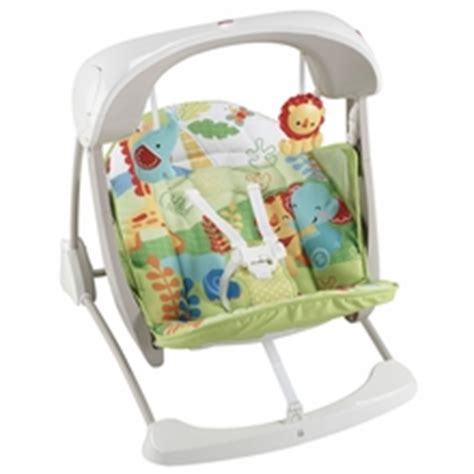 fisher price take along swing woodlands baby swings and bouncers albee baby