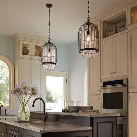 Kitchen Chandeliers Lighting Kitchen Lighting Gallery From Kichler