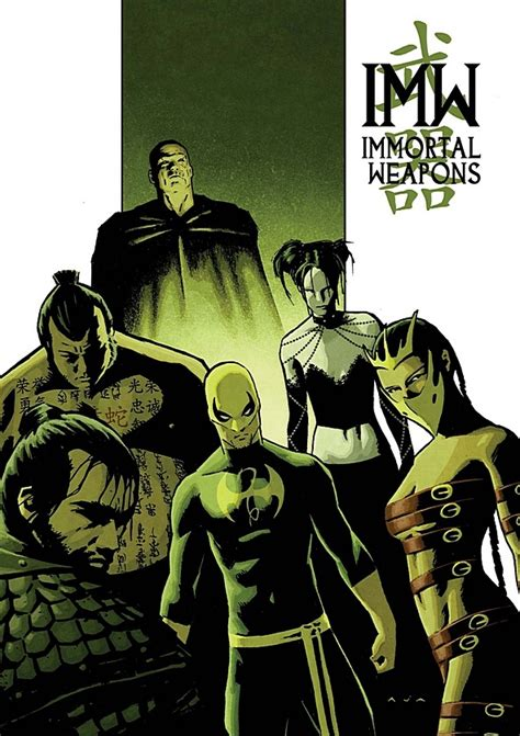 libro immortal iron fist the immortal weapons team comic vine