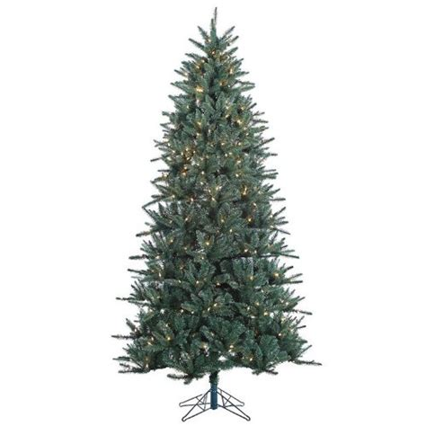 7 5 pre lit baldwin spruce artificial christmas tree