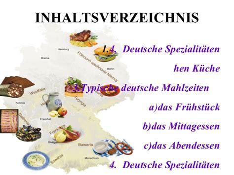 prezentacja kuchnia niemiec