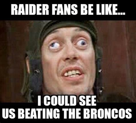 Broncos Vs Raiders Meme - 276 best other football teams images on pinterest